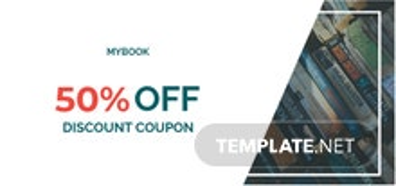 Book Discount Coupon Template