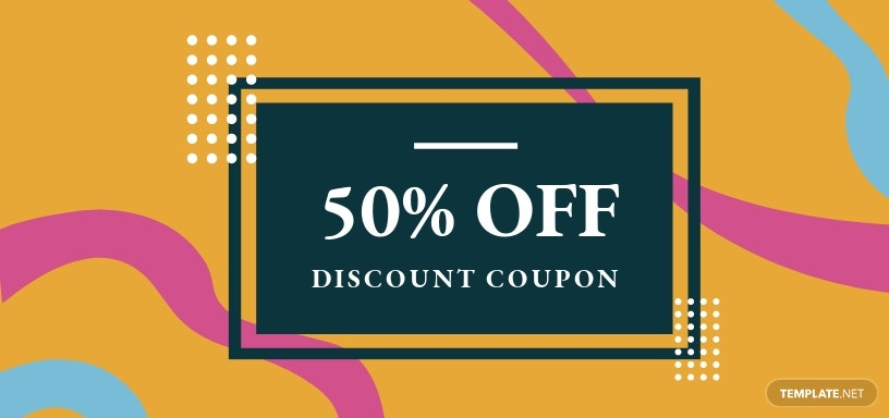 Custom Discount Coupon Template