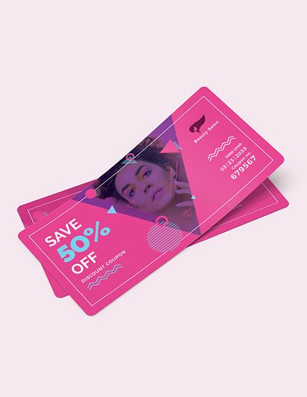 Discount Coupon Card Download