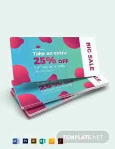 Printable Discount Coupon Template
