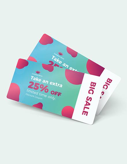 Sample Printable Discount Coupon