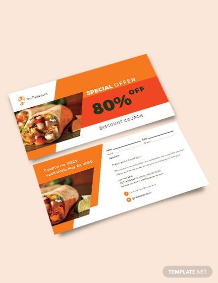 download sample discount coupon template