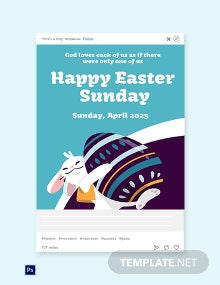Free Tumblr Easter Sunday Template