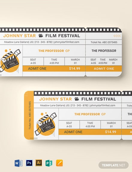 blank movie ticket template 1
