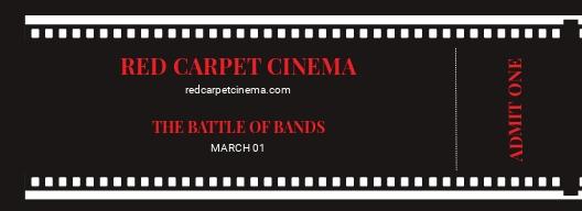 Simple Movie Ticket Template