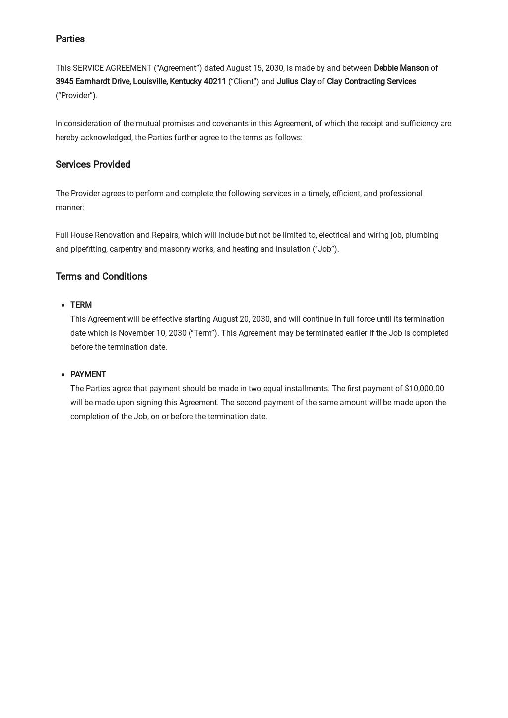 Free Service Agreement Template 1.jpe