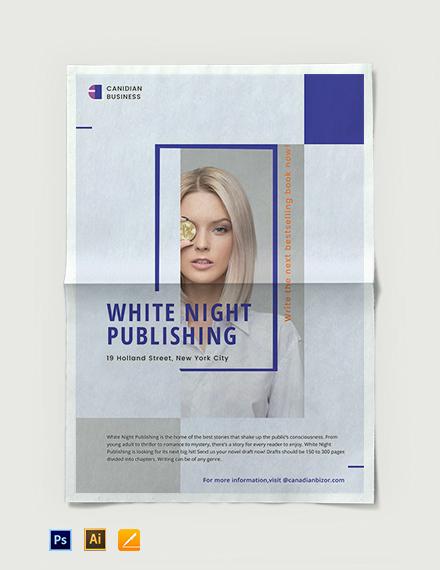 Business Advertisement Poster Template
