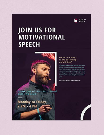 Business Seminar Poster Download