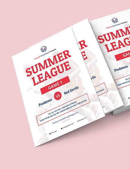 Football Flyer Download