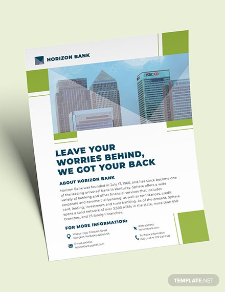 Banking Flyer Download