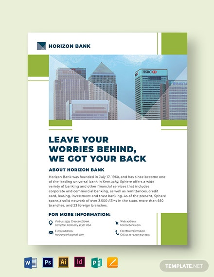 Banking Flyer Template