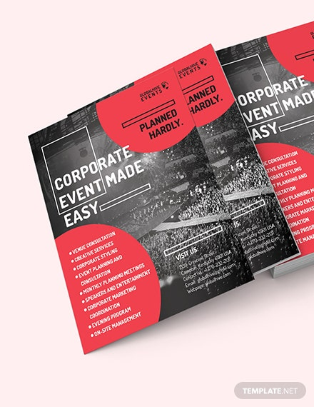 Corporate Event Flyer Download