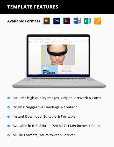 Electronic Product Flyer Printable
