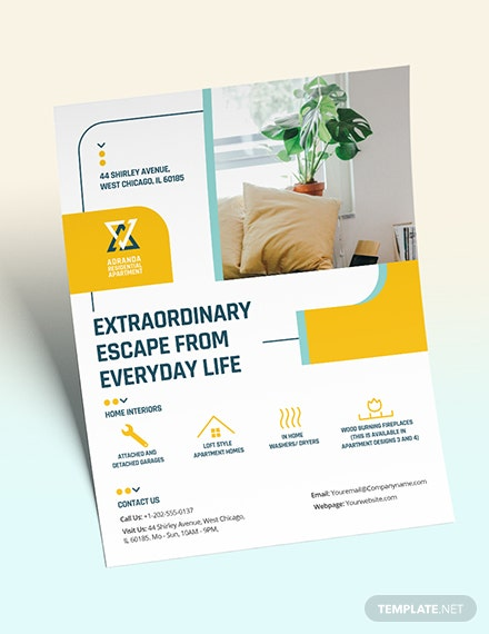 Residential Apartment Flyer Download