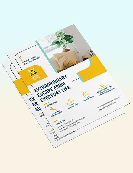Sample Residential Apartment Flyer