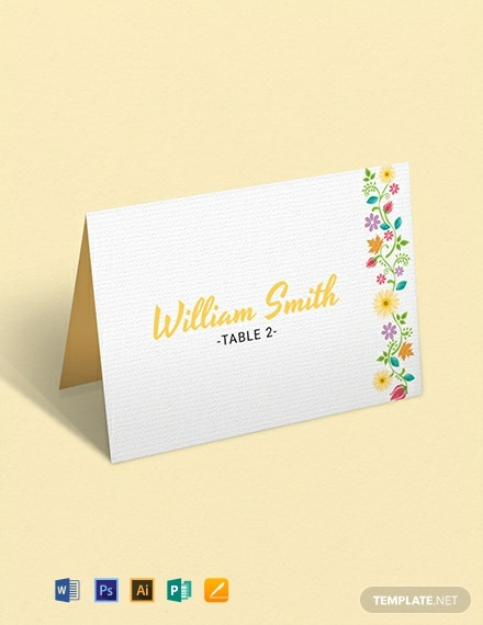 graphic about Free Printable Wedding Place Cards referred to as 12+ Cost-free Stage Card Templates - Phrase PSD InDesign