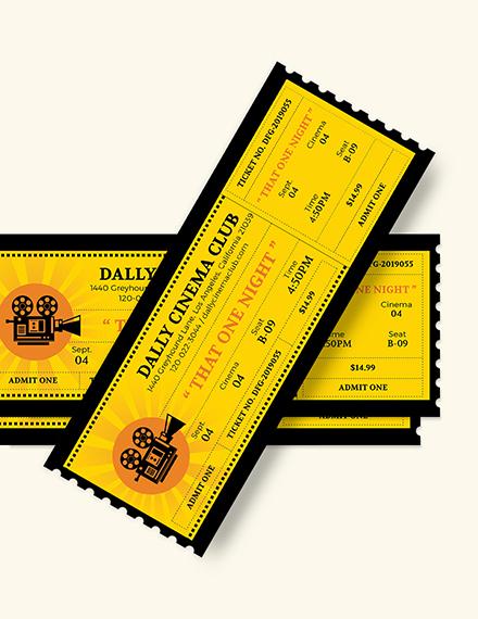 Wedding Movie Ticket Download