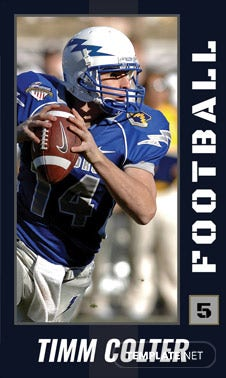 Free Sports Trading Card Template