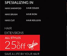 Free Barbershop Postcard Template