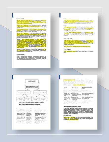 Sample  Year Business Plan