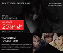 Free Barbershop Poster Template