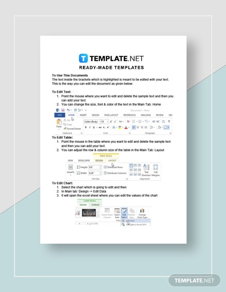 Accountancy Firm Business Plan Instructions