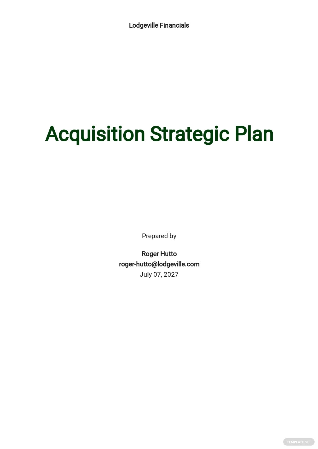 Acquisition Strategy Plan Template.jpe
