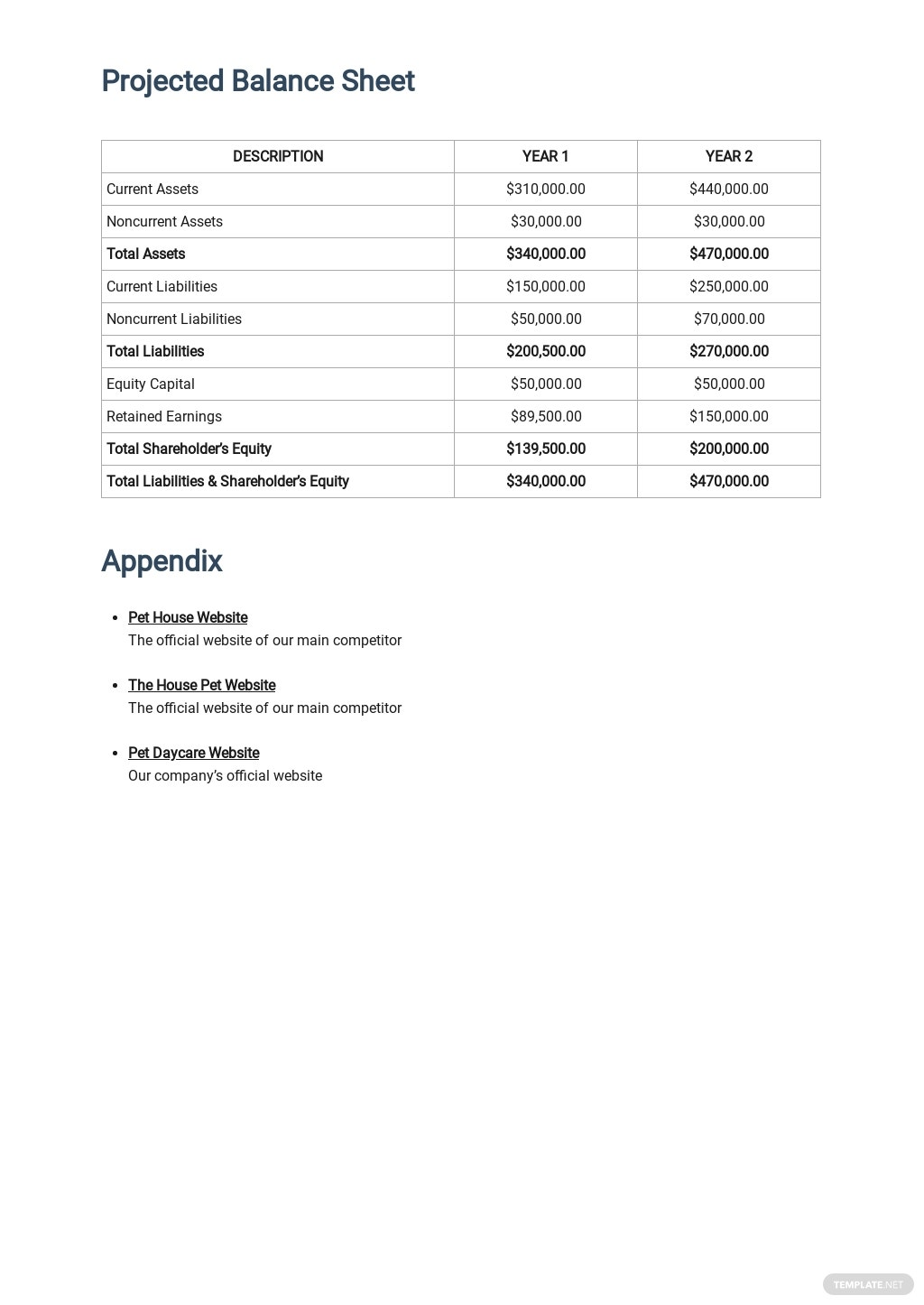Animal Day Care Business Plan Template 6.jpe