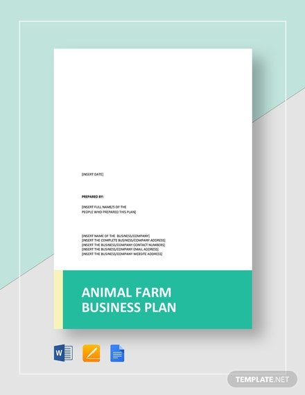 Animal Farm Business Plan