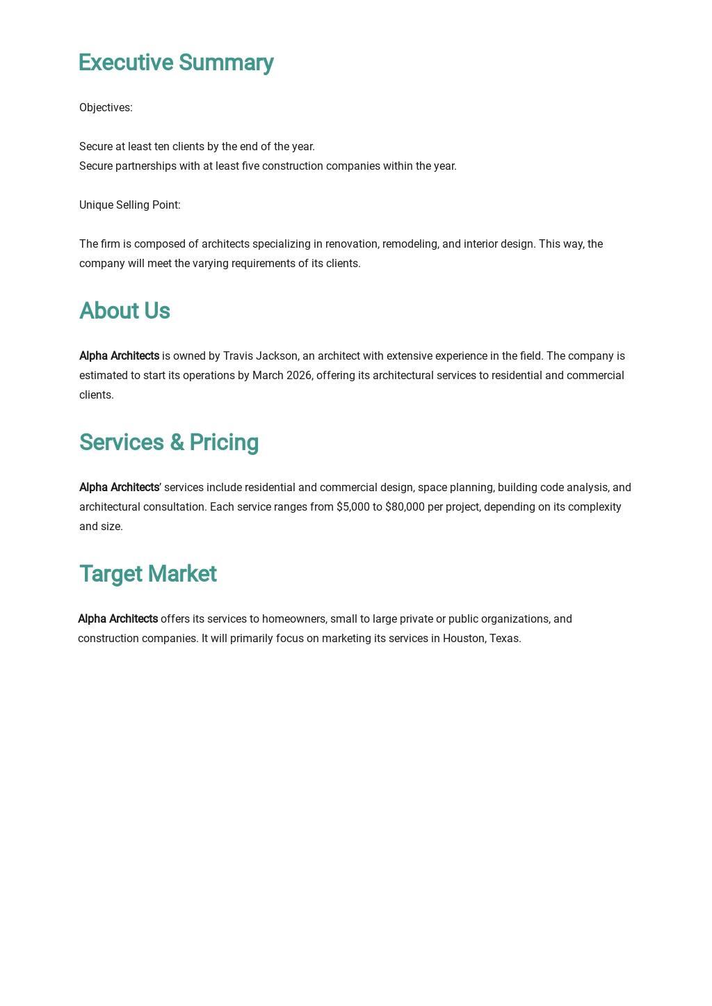 Architect Business Plan Template 1.jpe
