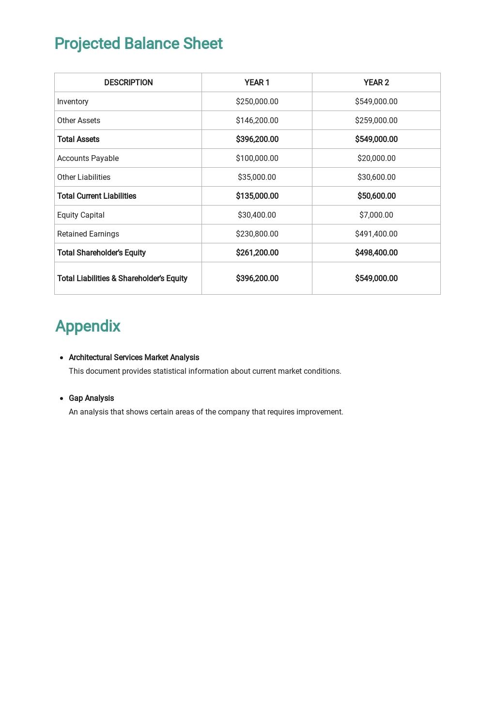 Architect Business Plan Template 5.jpe