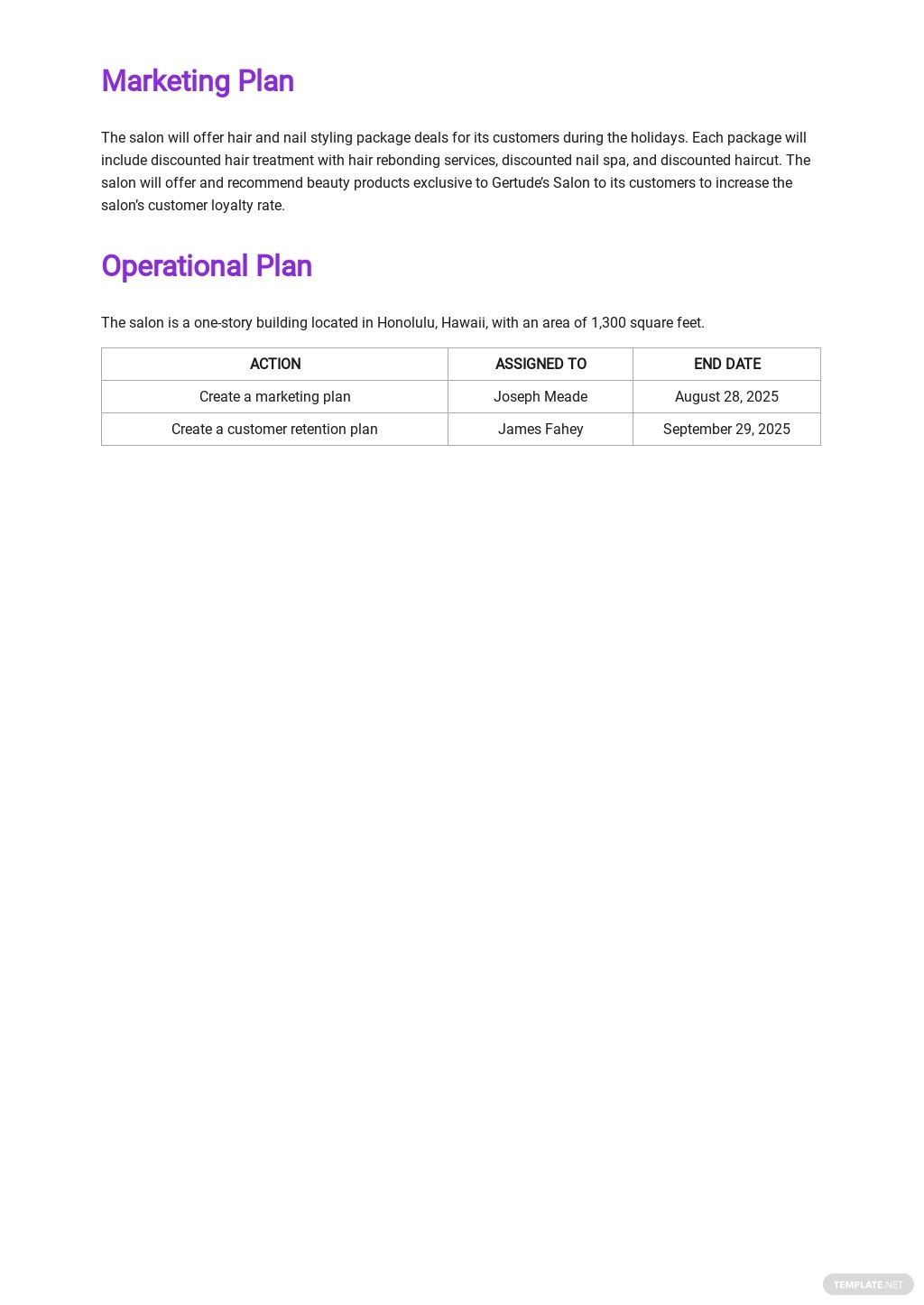 Beauty Salon Business Plan Template 3.jpe