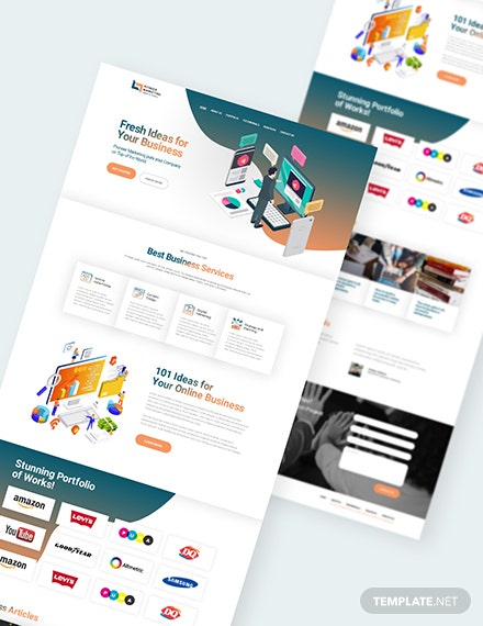 Sample Marketing Agency Landing Page