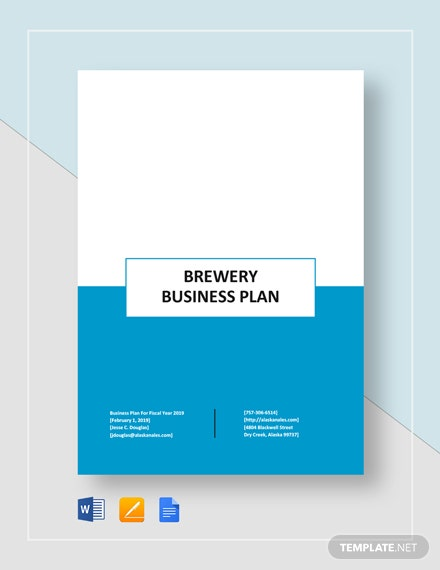 Brewery Business Plan