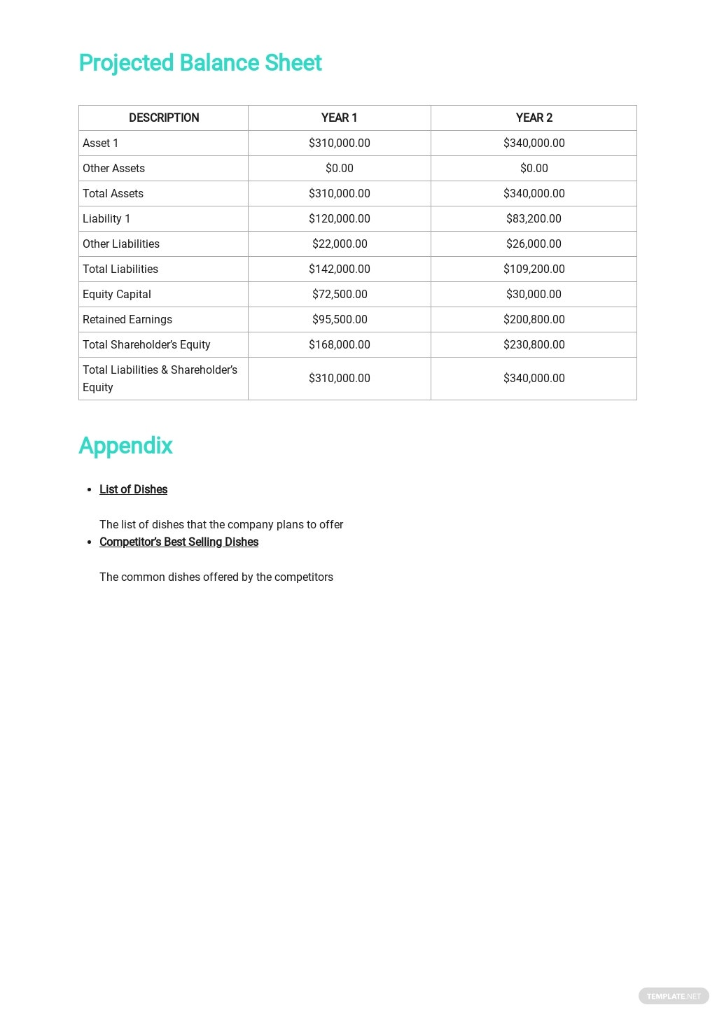 Catering Company Business Plan Template 7.jpe