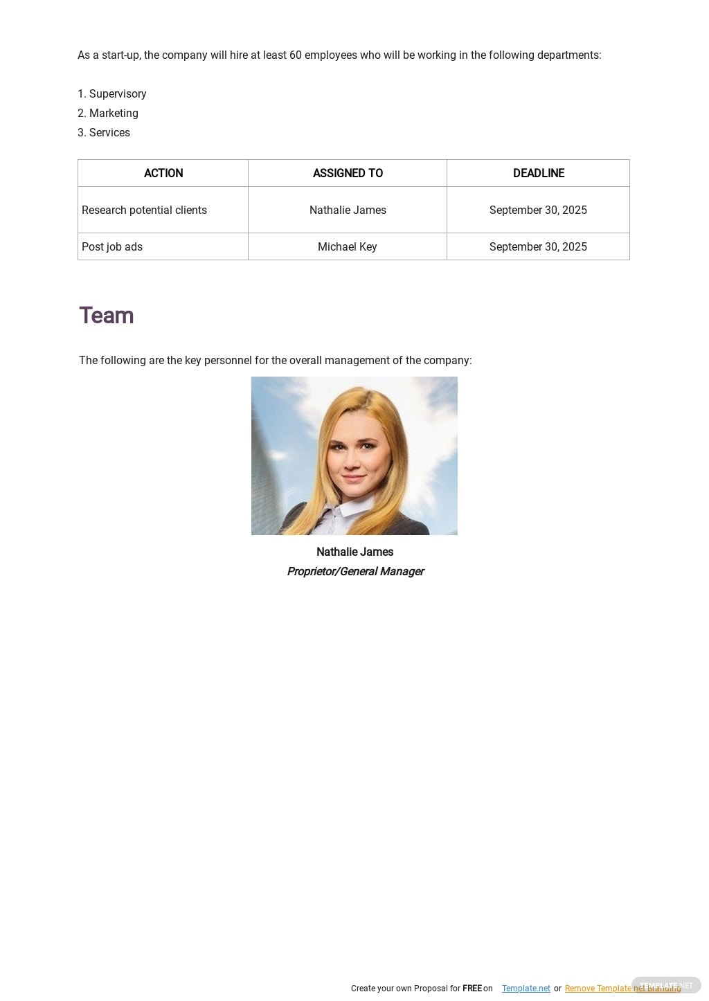 Cleaning Service Business Plan Template 4.jpe