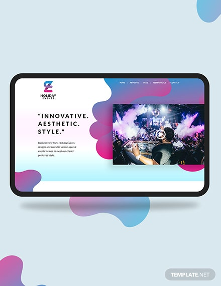 Event Planner Landing Page Download