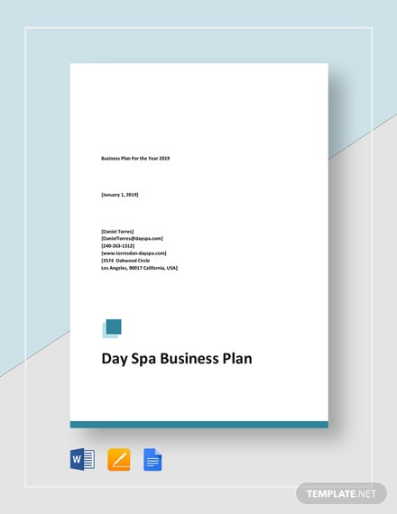 Day Spa Business Plan