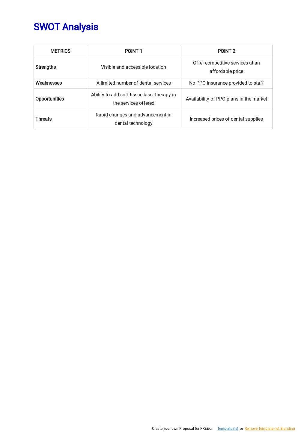 Dental Clinic Business Plan Template 3.jpe
