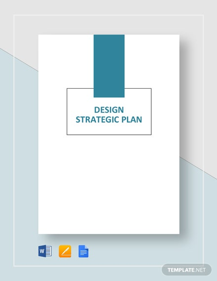 Design Strategic Plan Template