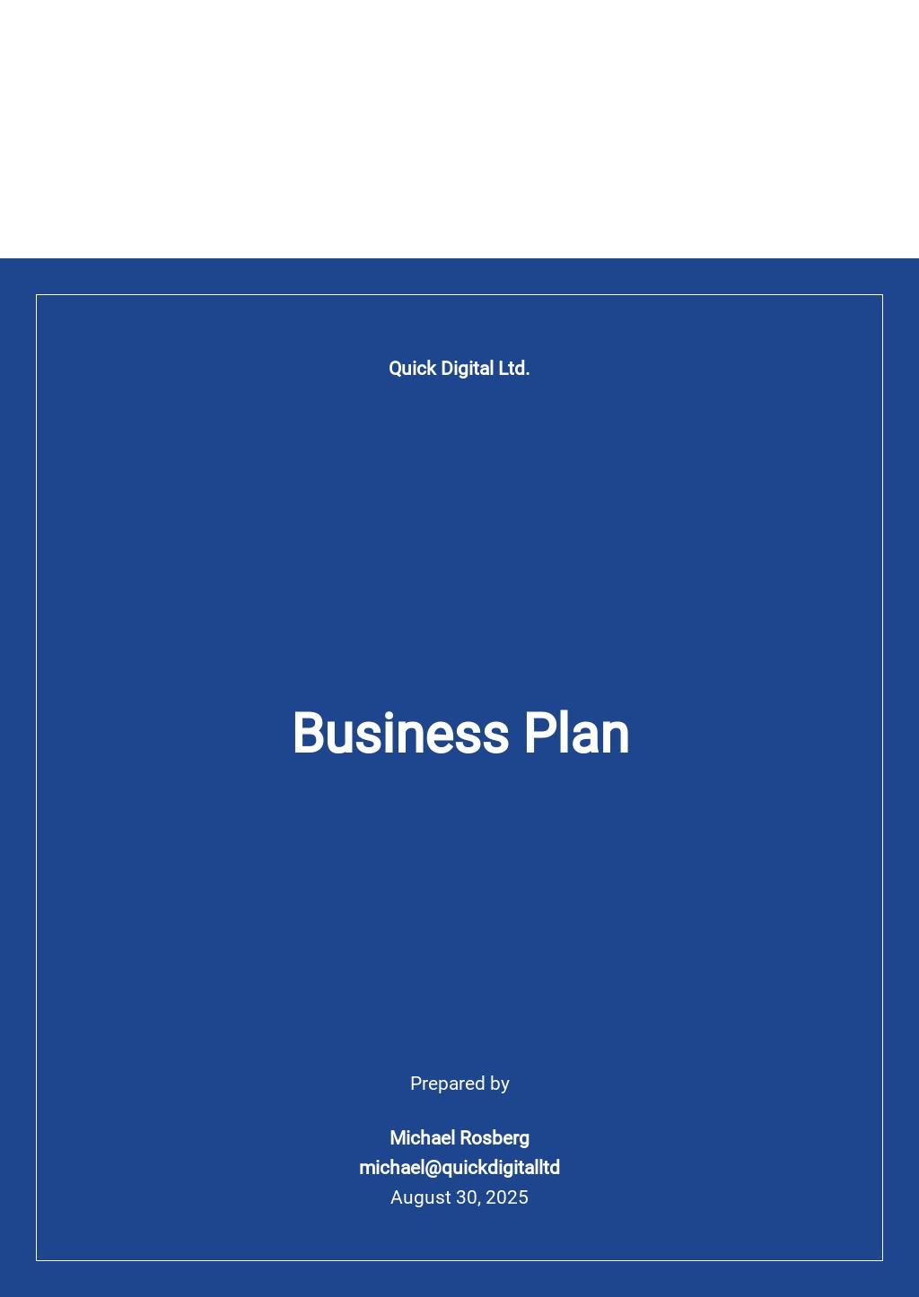 Digital Marketing Business Plan Template.jpe