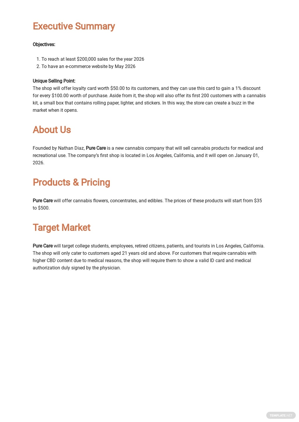 Dispensary Business Plan Template 1.jpe