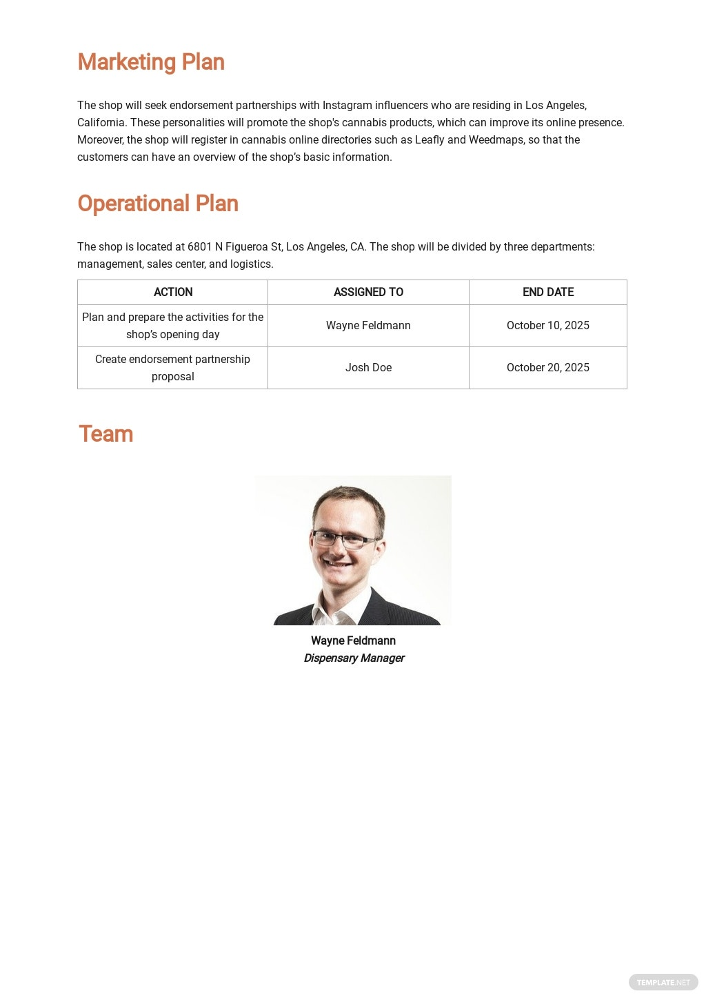 Dispensary Business Plan Template 3.jpe