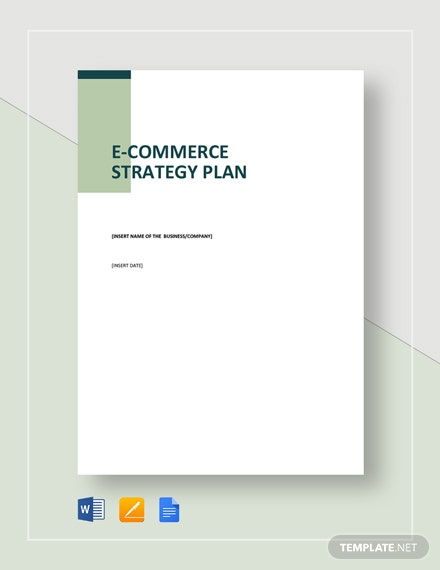 ECommerce Strategy Plan