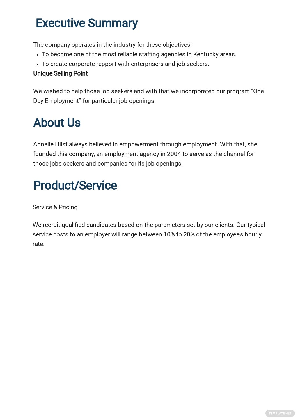 Employment Agency Business Plan Template 1.jpe