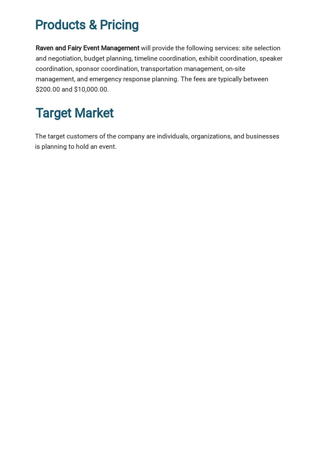Event Management Business Plan Template 2.jpe