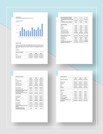 Simple Event Management Business Plan