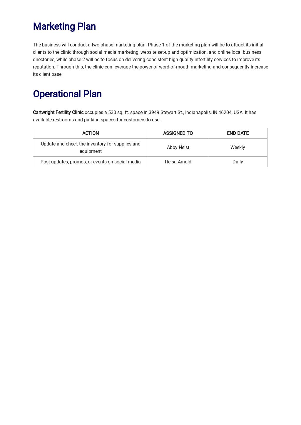 Fertility Clinic Business Plan Template 3.jpe