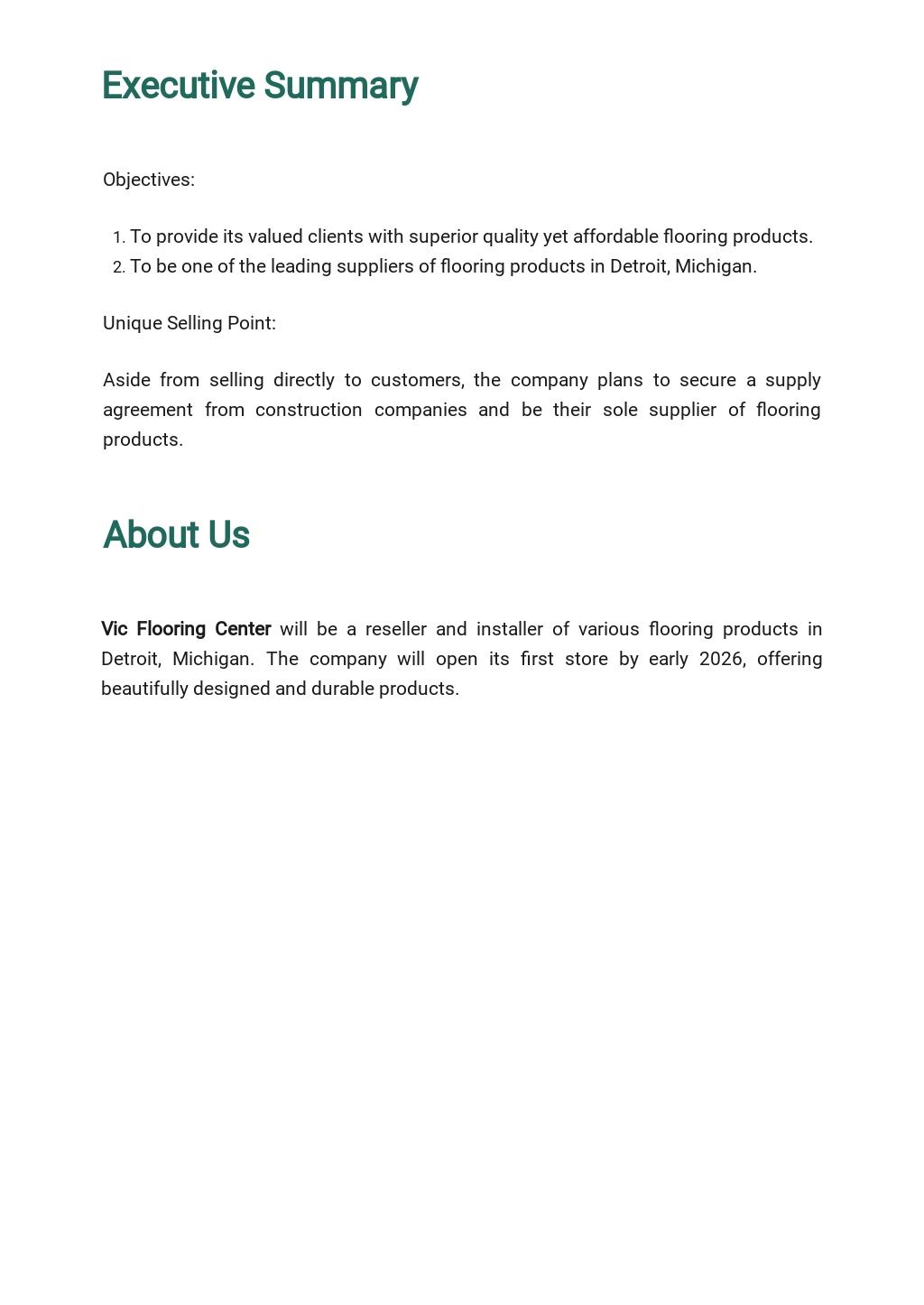 Flooring Company Business Plan Template 1.jpe