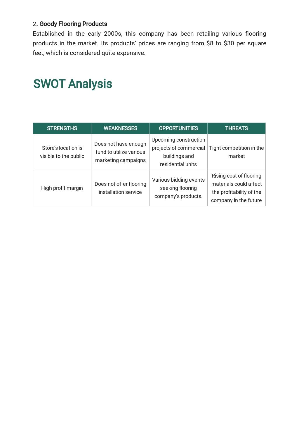 Flooring Company Business Plan Template 3.jpe